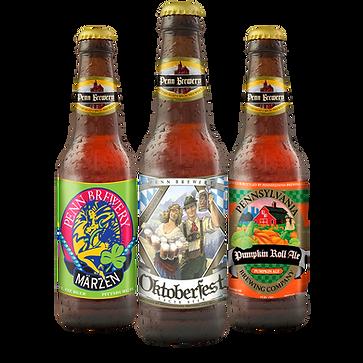 Penn Brewery Seasonal Beer Bottles