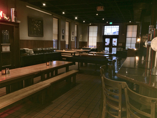 Penn Brewery Main Dining Room