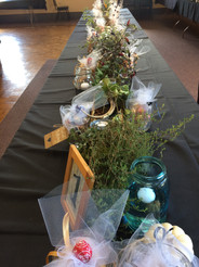 Eisenhalle with centerpieces