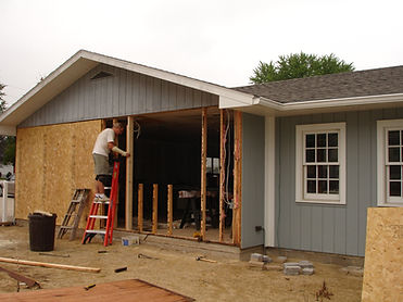 framing west wall of shop ext.JPG