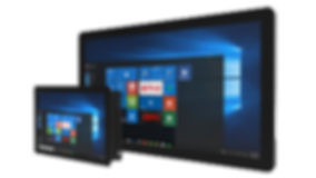 Commercial Windows tablet
