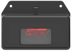 Nebula kiosk tablet barcode scanner