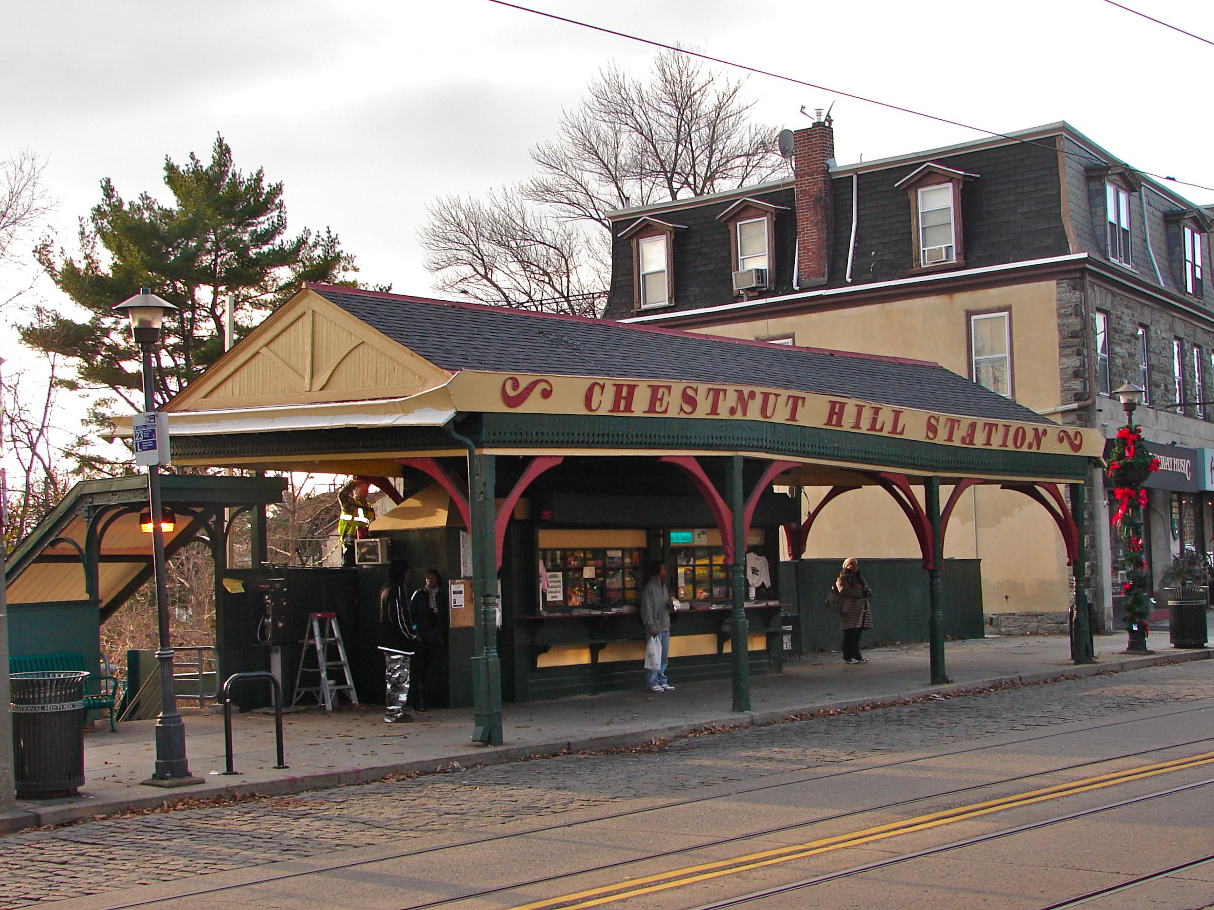 Chestnut Hill East Regional Rail