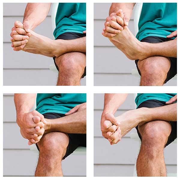 Toe Spreading Rotation Stretch