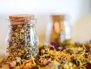 Herbal Tea Bath DIY