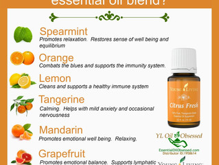 Essential Oil Properties: Citrus Fresh Oil
