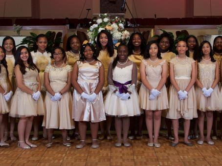 James River Presents 46 Middle Schoolers at Renaissance Cotillion