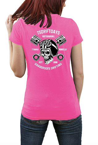 Pink tshirt tsdriftdays