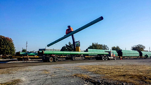 Pipe Rail Transload at America's Central