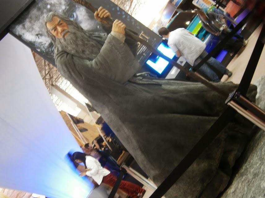 Gandalf, terror das novinha!