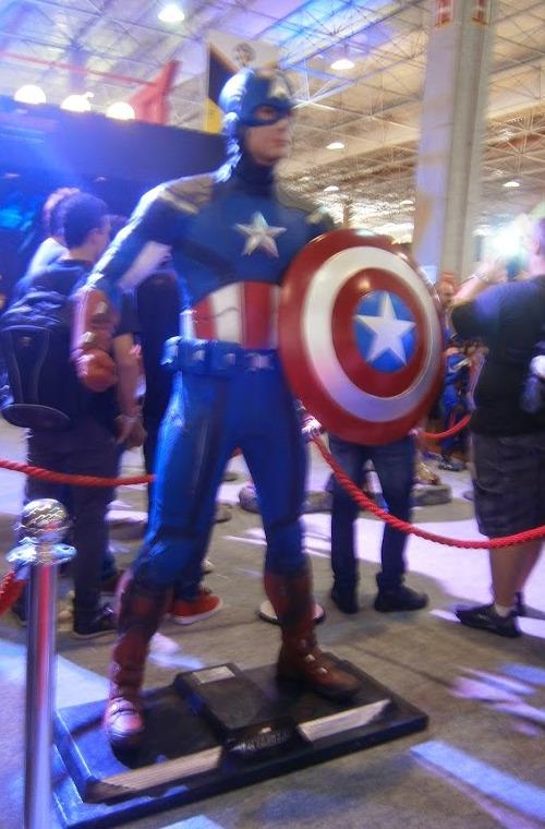 Capitão América lindo!