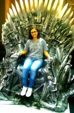 A rainha no Trono de Ferro