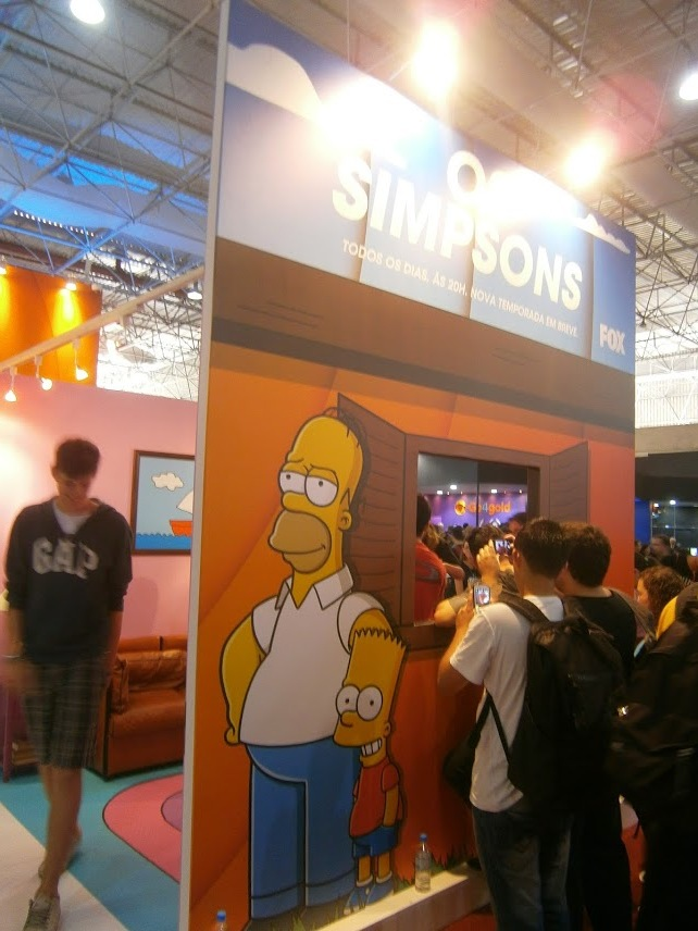 Os Simpsons!
