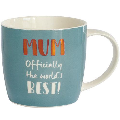 Best Mum Mug in Hat Box