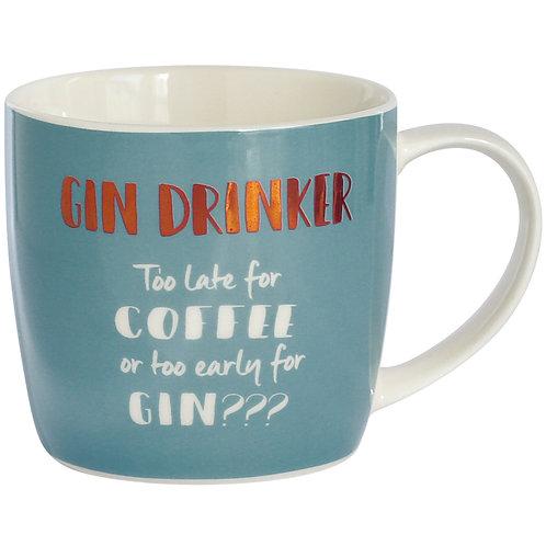 Gin Drinker Mug in Hat Box