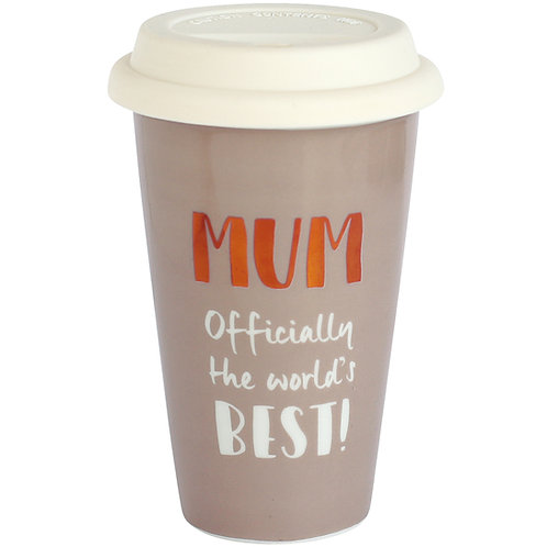 Best Mum Ceramic Travel Mug