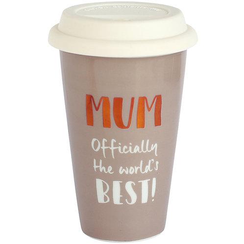 Best Mum Ceramic Travel Mug