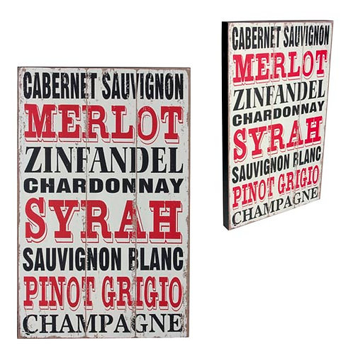 Cab, Mer, Zin, Chard, Syrah