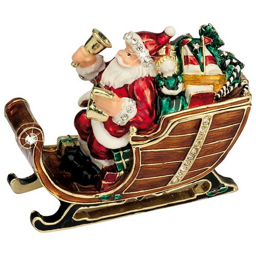 Santa with Sleigh & Bells