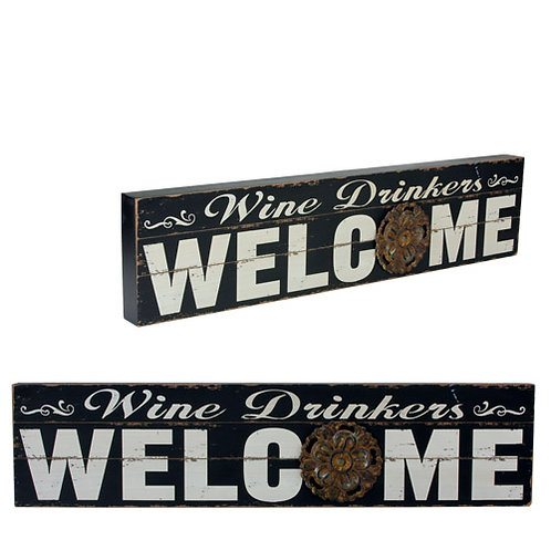Wine Drinkers Welcome