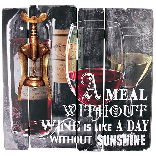 A Meal Without Wine