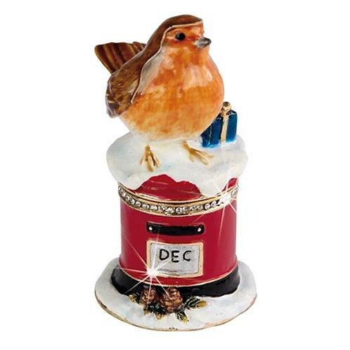 Christmas Robin & Post Box