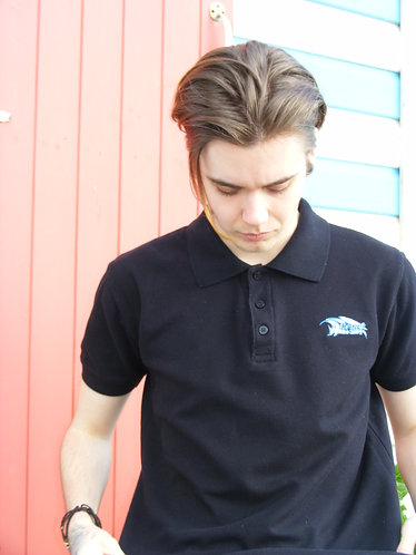 Mens embroidered polo