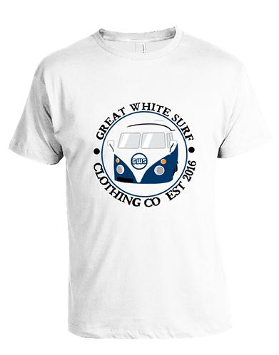 GWS camper van t-shirt