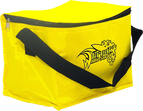 6 Can cooler bag yellow