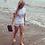 Thumbnail: Great White surf ladies camper van t-shirt