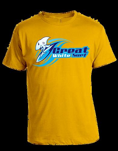 Surfing Shark mens t-shirt