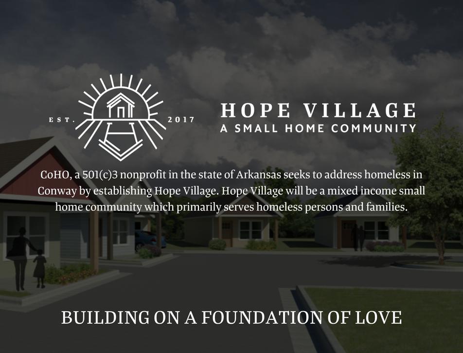 Hope Village Postcard | Front