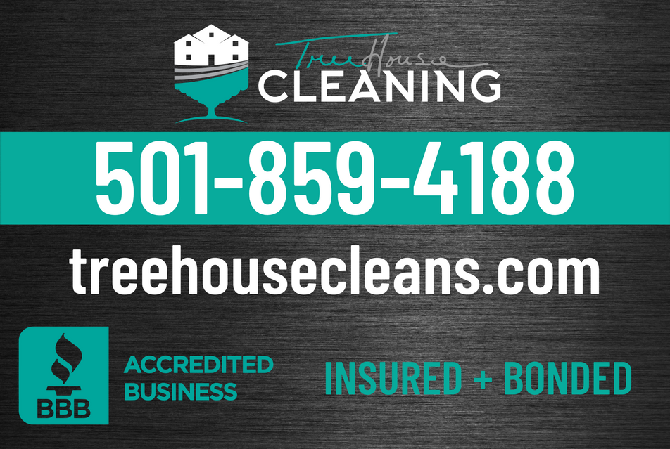 TreeHouse Cleaning Car Magnet