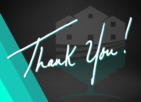 TreeHouse Cleaning Thank You Card | Front