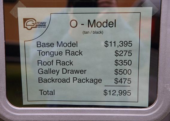 Ozark - Pricing
