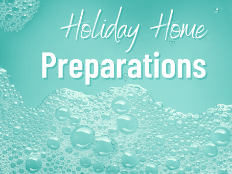 The To Do's and Do Not's of Holiday Prep!