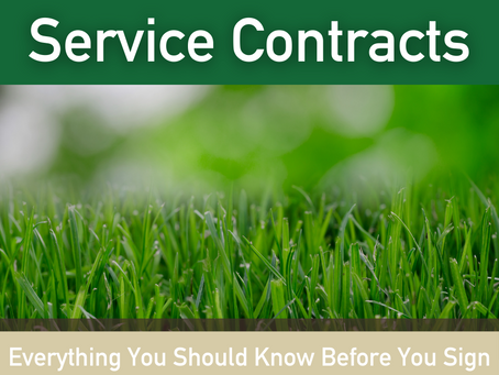 Don't Be Afraid Of A Lawn Care Commitment!