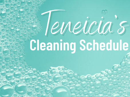 Your Guide To Cleaning On A Schedule