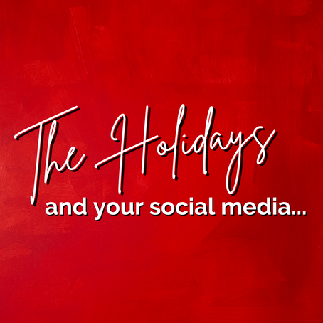 Don't Forget to Use Social Media During the Holidays