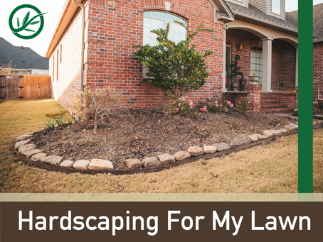 Hardscaping. What is it, and how can it help my lawn?