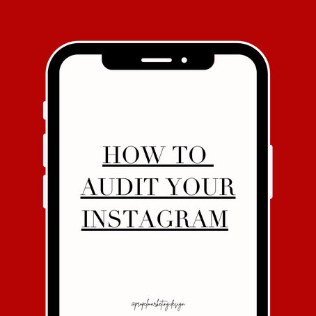 How to Audit Your Instagram