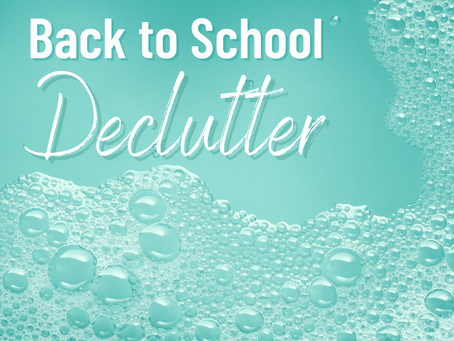 Start the School Year Off Right with a Little Organization!