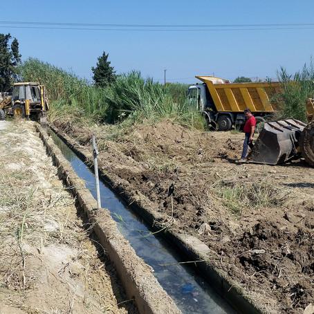 Έργα μεταφοράς νερού και αρδευτικά δίκτυα ζώνης 8 περιοχής Πέτα – Κομπότι Ν. Άρτας