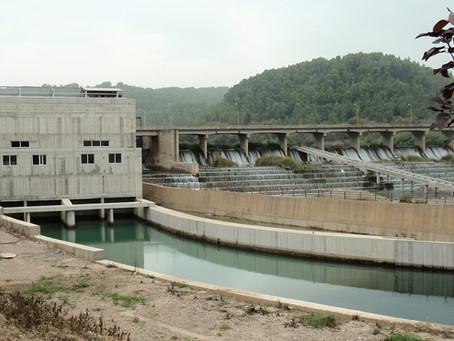 Υδροηλεκτρικό εργοστάσιο στο φράγμα του Αλφειού στο Φλόκα Ν. Ηλείας