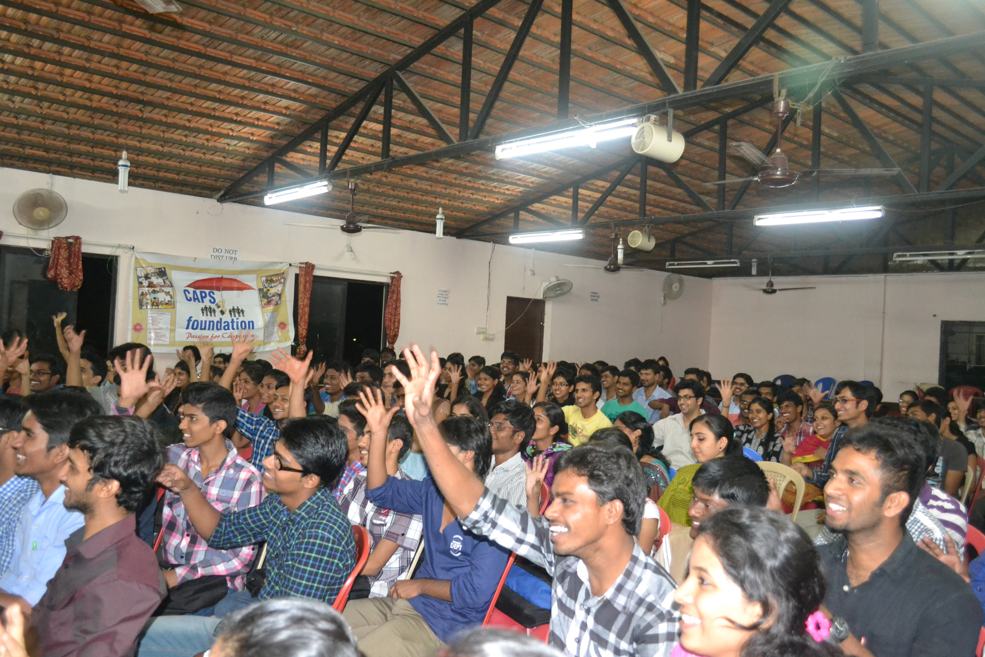 Students enjoying Classes