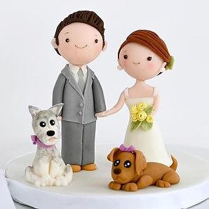 💕Adorable kawaii style groom and bride