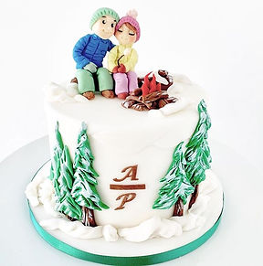 Wilson Cusom Cakes in Jackson Hole makes the best wedding cakes and birthday cakes
