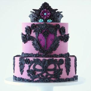Pink and Black Princess Cake.jpg