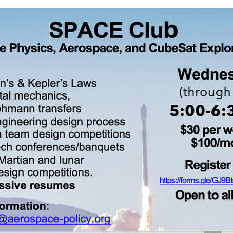 New STEM Education Heights:   Aerospace & Innovation Academy After- School Program in S.Florida