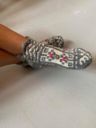 Socks W. Pattern